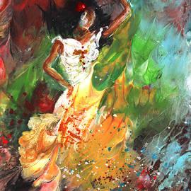 Impression Of Flamenco by Miki De Goodaboom