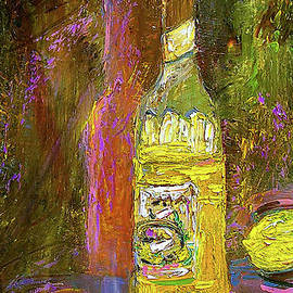 Impressionism Still Life With Lemons by Ginette Callaway