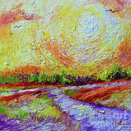 Ginette Callaway - Impressionist Sunny Day Landscape