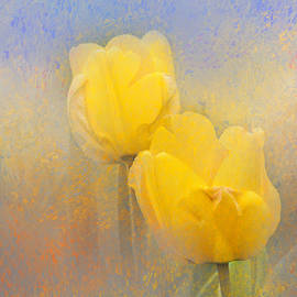Impressionist Tulips by Jai Johnson