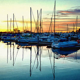 Glenn McCarthy Art and Photography - Impressions Of A San Diego Marina