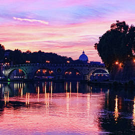 Georgia Mizuleva - Impressions Of Rome - Glorious Sky Over Tiber River