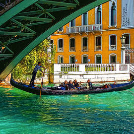 Georgia Mizuleva - Impressions of Venice - Ponte dell Accademia Turquoise