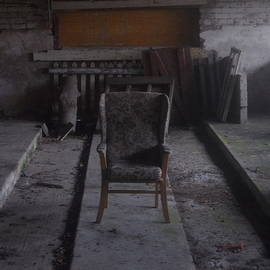In An Abandoned Milking Shed by Scott Barlow