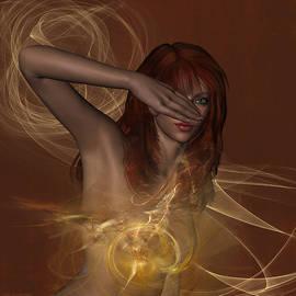 In Awe A Nude Portrait by Judi Suni Hall