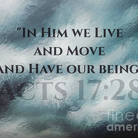 In Him We Live... by Sharon Tate Soberon