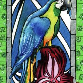 Dora Hathazi Mendes - In Love With a Macaw