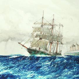 In Mid Atlantic - Charles Edward Dixon