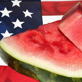 Diann Fisher - Independence Day and Watermelon