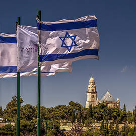 Independence Day In Israel by Endre Balogh