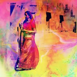 Sue Jacobi - Indian Beauty Rajasthan Exotic Travel Woman Mehrangarh Fort 1a