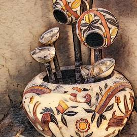 Indian Pottery by Anne Sands