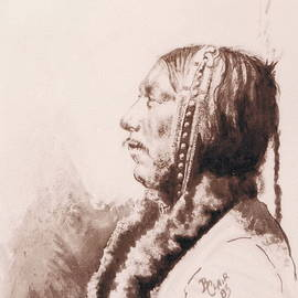 Indian Profile by Barbara Keith