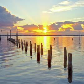 Indian River Sunrise by Gordon Elwell