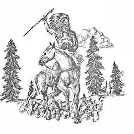 Indian Warpath by Gerald Ziolkowski