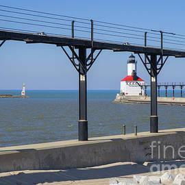 Ann Horn - Indiana Lighthouse and Catwalk