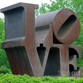Indiana Love Sculpture