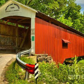 Indiana Newport Covered Bridge by Adam Jewell