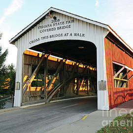 Indiana State Fair Covered Bridge by Steve Gass