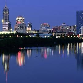 Indianapolis Blue Hour