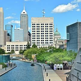 Skyline Photos of America - Indianapolis with Canal