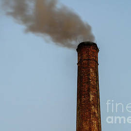Radu Bercan - Industry Smoke Pollution From Factory Chimney