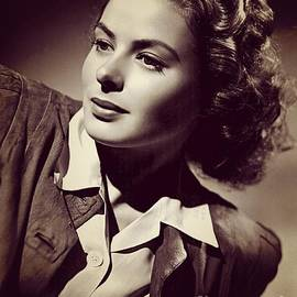 Esoterica Art Agency - Ingrid Bergman, Vintage Movie Star