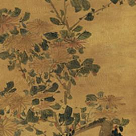 Li Fangying - Ink painting ChrysanthemumInk painting ChrysanthemumInk painting Chrysanthemum