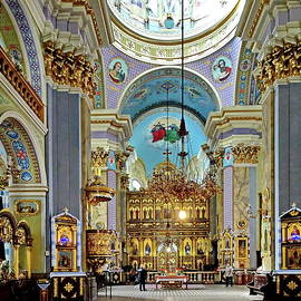 Interior of The Church of the Transfiguration, Lviv, Ukraine by Lyuba Filatova