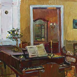 Juliya Zhukova - Interior with piano