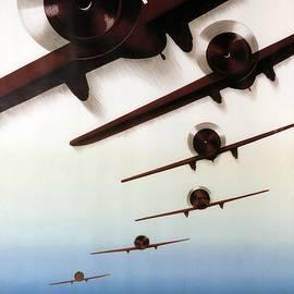 International Aviation Meeting 1937, Zurich, Switzerland - Retro travel Poster - Vintage Poster - Studio Grafiikka
