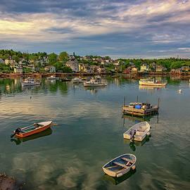 Into Stonington Harbor - Rick Berk