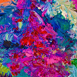 Intuitive painting by Joan Reese