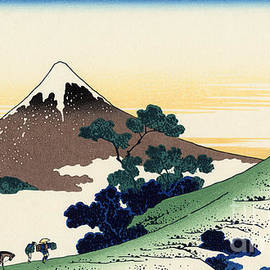 Inume pass in the Kai province - Hokusai