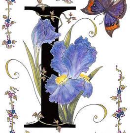 Stanza Widen - Iris and Indian Leaf Butterfly - STOLEN