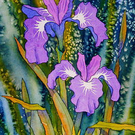 Iris Duo by Teresa Ascone