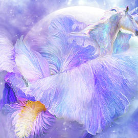 Iris - Goddess Of Fantasy by Carol Cavalaris
