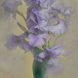 Jeff Burgess - Iris in a vase