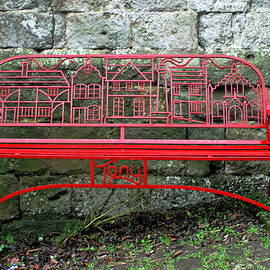 Iron Bench by Tony Murtagh