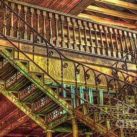 Reid Callaway - IronWorks Stairs Historic Interior Design Art
