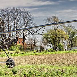William Sturgell - Irrigation Sprinkler Waiting for Spring