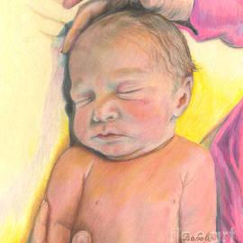 Isabelle - First Day - Newborn by Jan Dappen