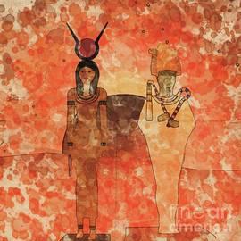 Isis and Osiris by Raphael Terra and Mary Bassett - Raphael Terra