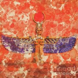 Isis, Mother Goddess of Egypt by Raphael Terra and Mary Bassett - Raphael Terra