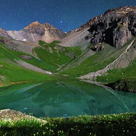 Mike Berenson - Island Lake Nightscape Panorama