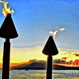 Perfect View At Sunset by Jerome Stumphauzer