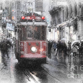 Istambool Historic Tram by Chris Armytage
