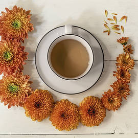 It's A Flowers And Coffee Day by Kim Hojnacki
