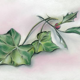 MM Anderson - Ivy Leaves and Holly