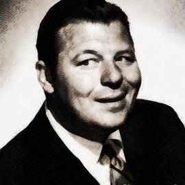 John Springfield - Jack Carson, Vintage Actor by John Springfield